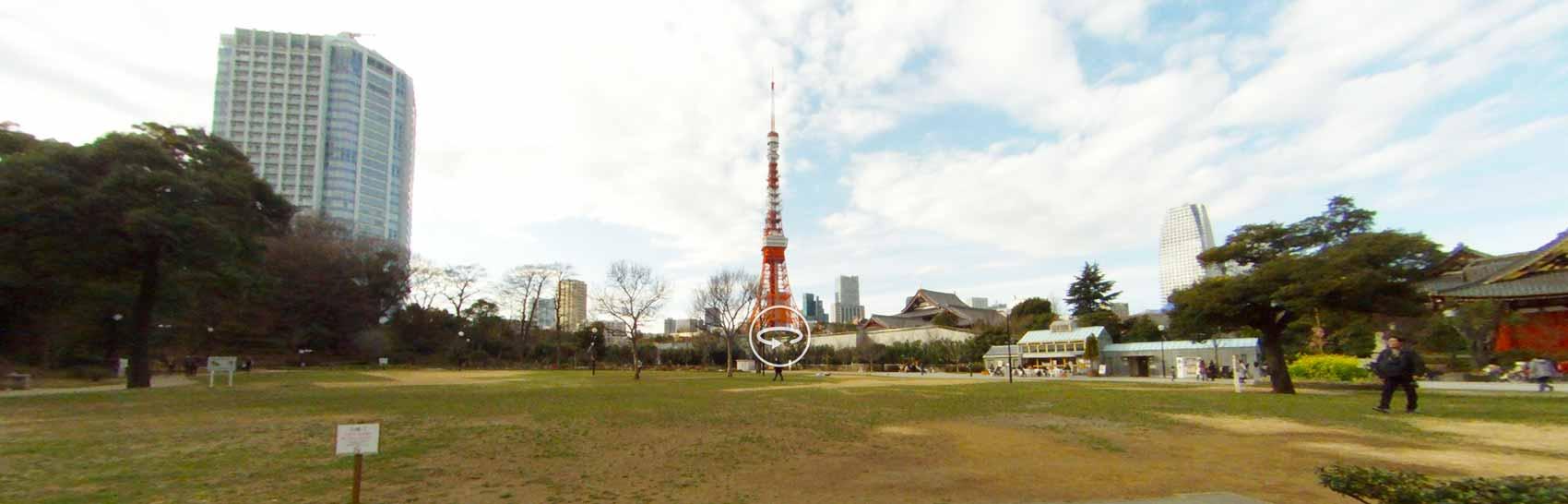 360度カメラ「Entapano2」を持って浜松町を探索